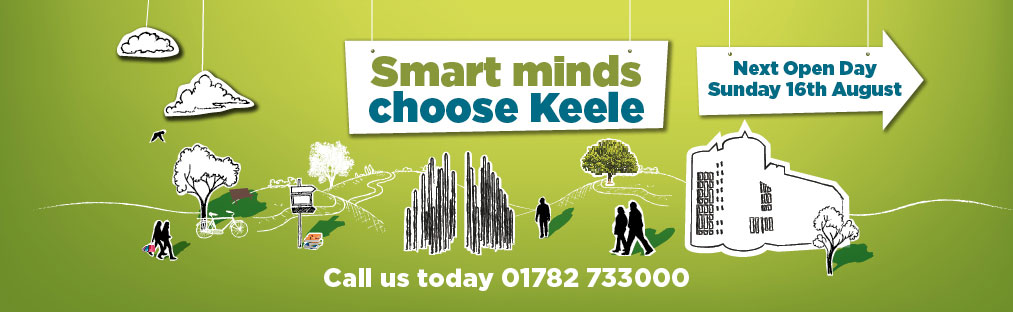 Smart minds choose Keele - Clearing